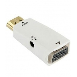 Mini HDMI to VGA Converter
