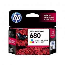 HP 680 Tri-Colour Ink Cartridge