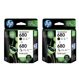HP 680 Ink Cartridge Combo...