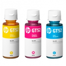 HP GT52 Colour Ink Bottle