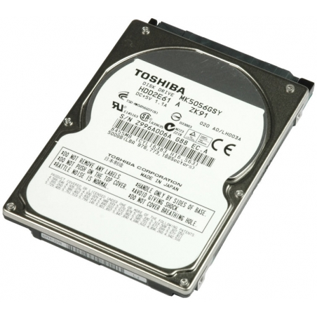 Toshiba 500GB Laptop Hard Disk