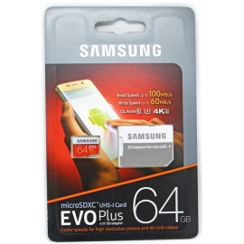 Samsung 64GB EVO PLUS Micro...