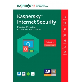 Kaspersky Internet Security 3 Devices 1 Year