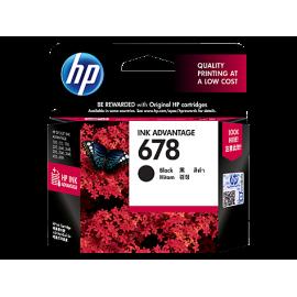 5Pcs of HP 678 Black Ink...