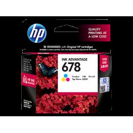5Pcs of HP 678 Tri-Colour...