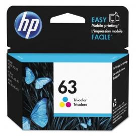 5Pcs of HP 63 Tri-Colour...
