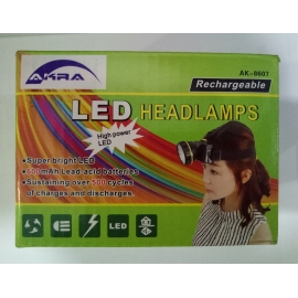 AKRA LED Head Torch (AK-8607)
