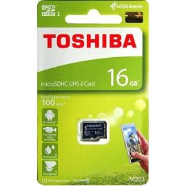 Toshiba 16GB MicroSDHC Memory Card
