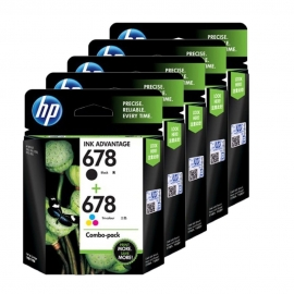 HP 678 Ink Cartridge Combo Pack