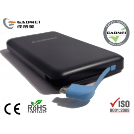 Gadmei power bank 10000mah