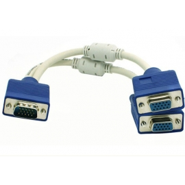 VGA Splitter Cable 2 Way